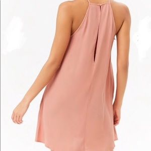 Blush flowy dress